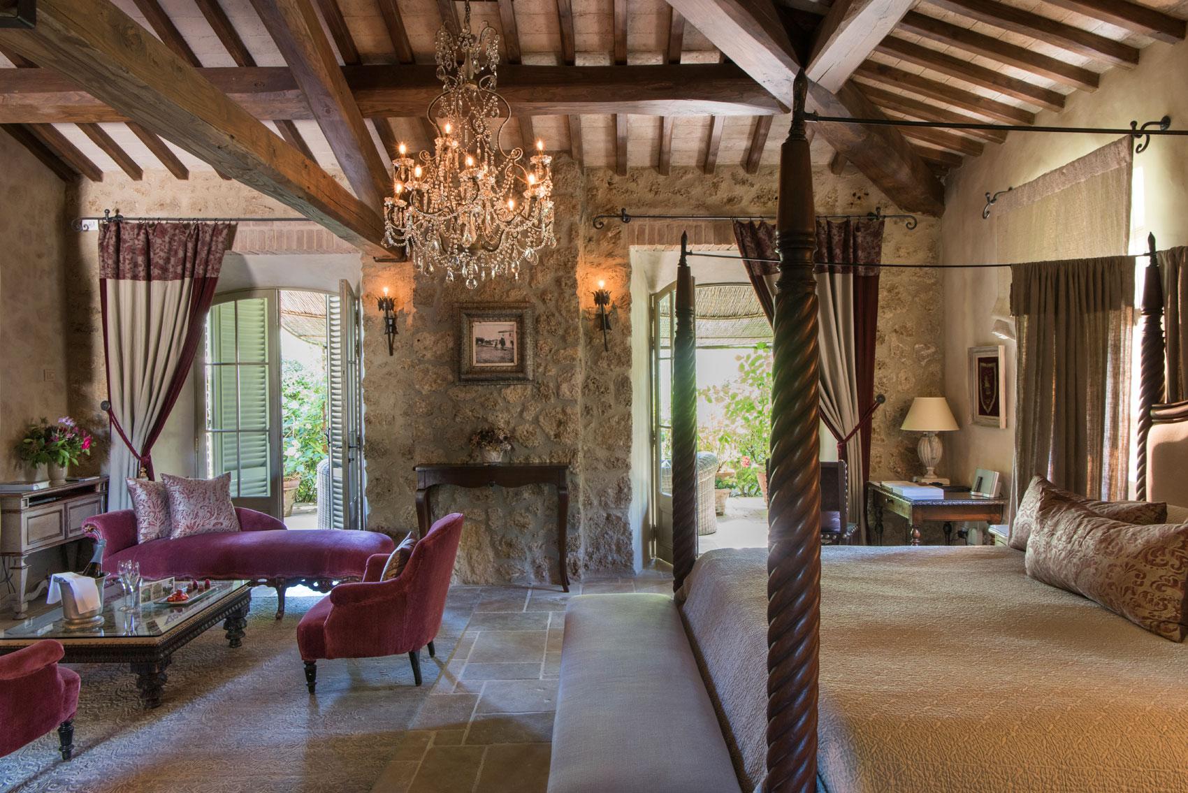 Maggiorana garden suite of Borgo Santo Pietro