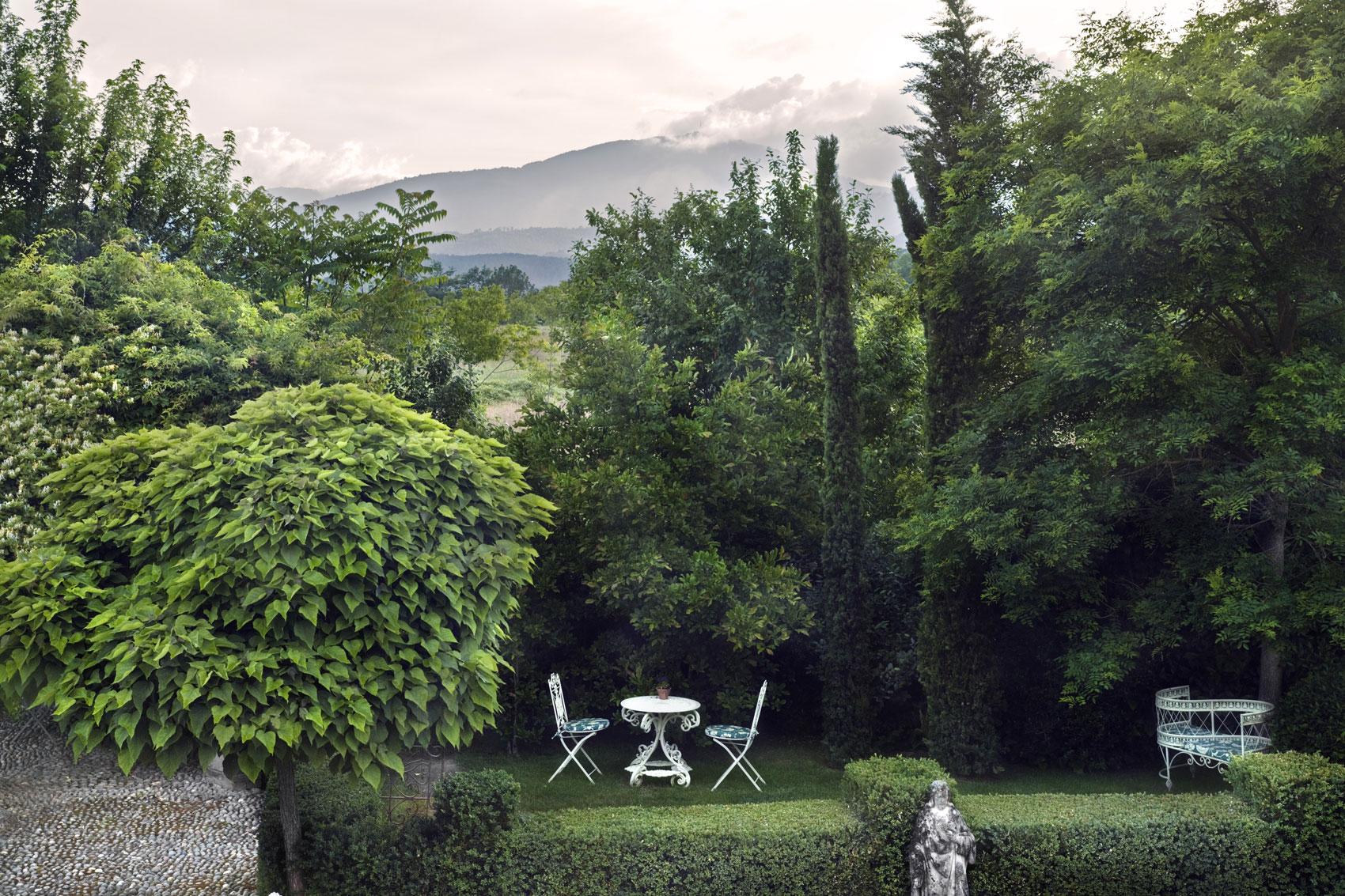 Caza de trufas en la Toscana