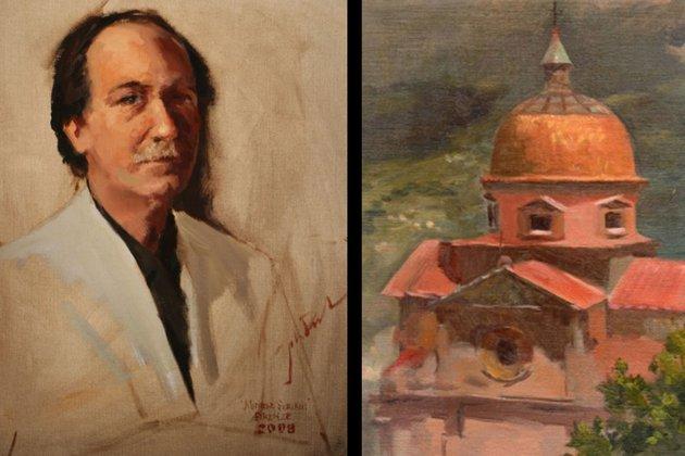 Borgo Santo Pietro - artist - John Robert Peck