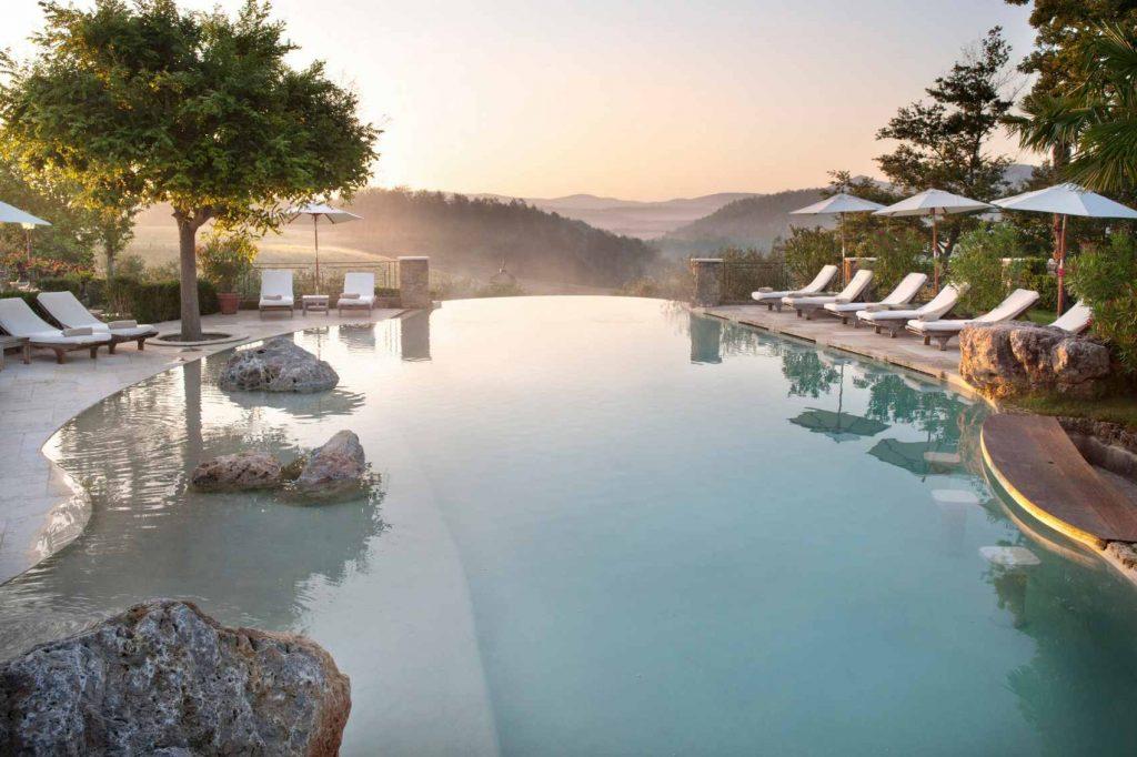 spa retreat in tuscany