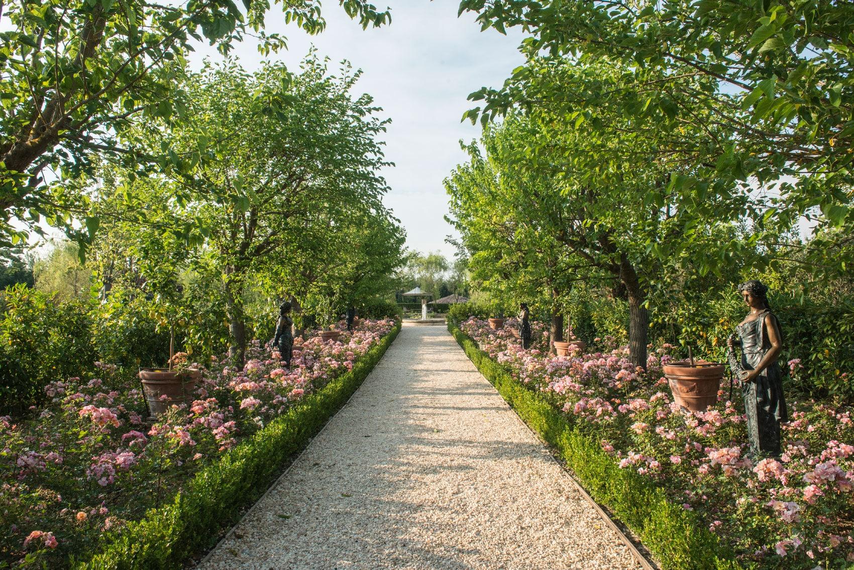 Los cinco sentidos de Borgo Santo Pietro