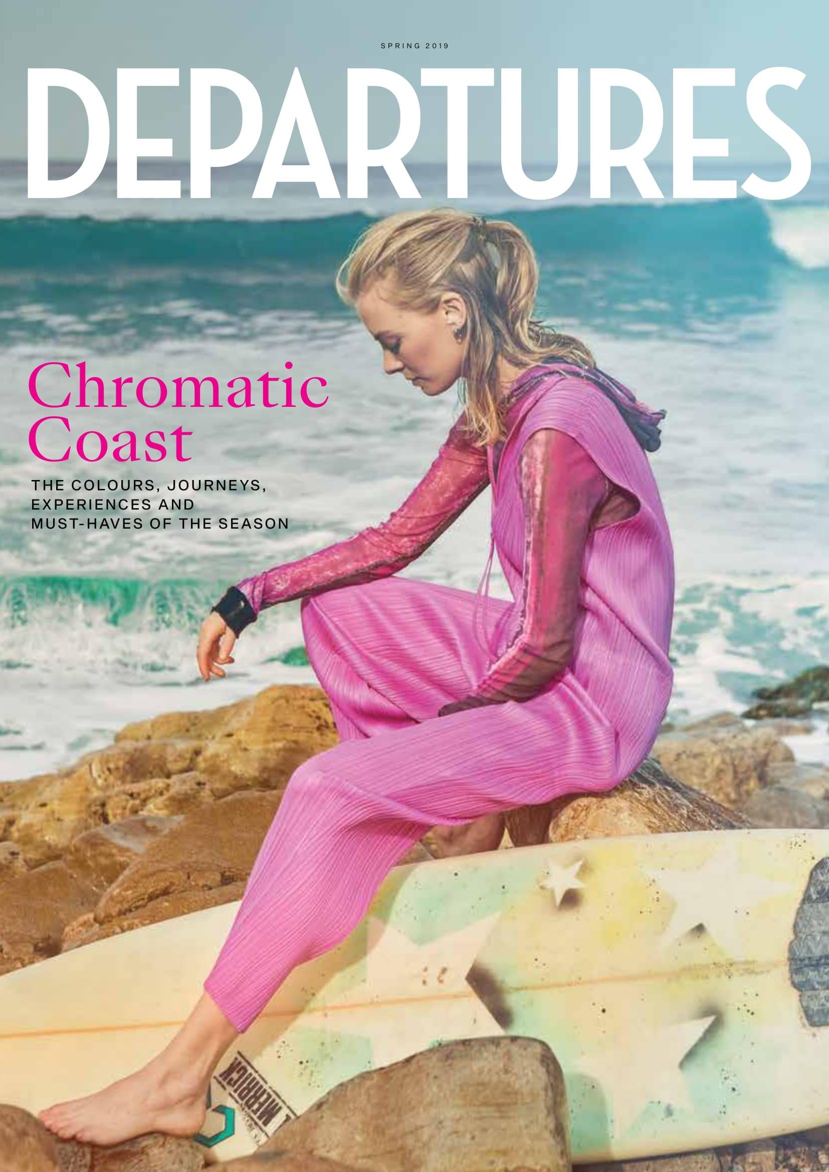 Departures magazine cover