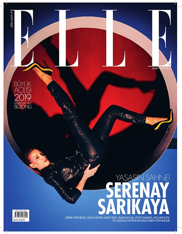 ELLE Turkey March 2019 Cover