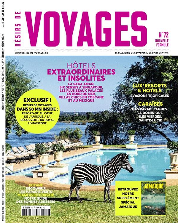 Cover Désirs de voyage