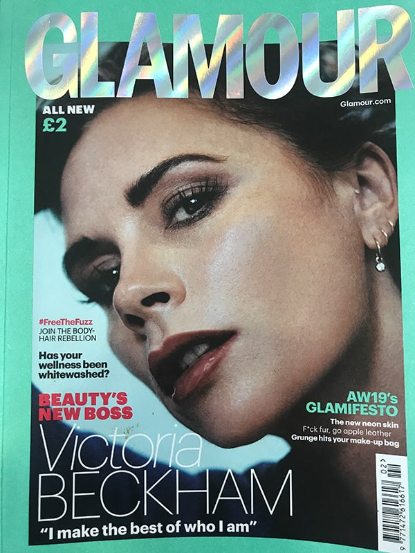 Glamour Magazine UK cover
